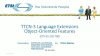 TTCN-3 language extensions object-oriented features