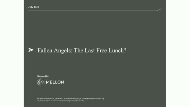 BNY Mellon Investment Management - Fallen Angels:  The Last Free Lunch?