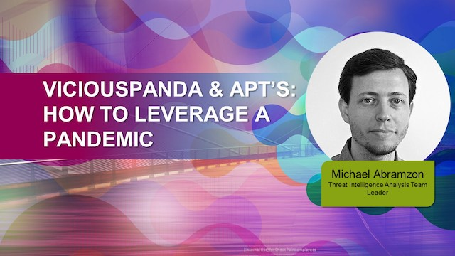 ViciousPanda and APT's: How to leverage a Pandemic