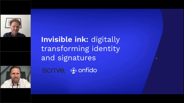 Invisible ink: digitally transforming identity and signatures