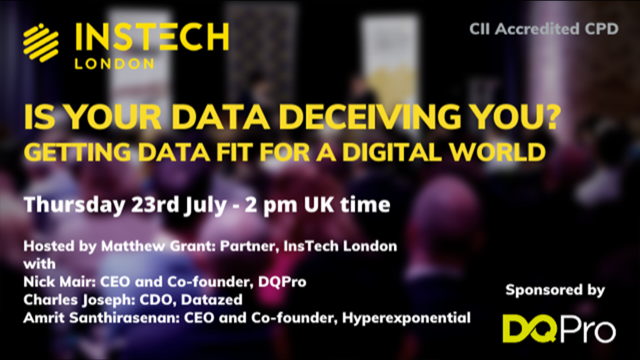 Is Your Data Deceiving You? Getting Data Fit for a Digital World