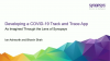 Developing a COVID-19 track and trace app – through the lens of Synopsys