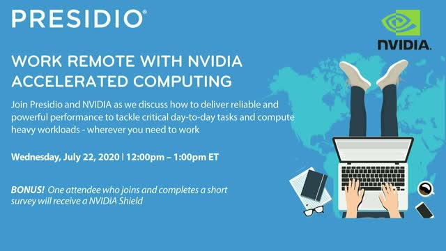 WORK REMOTE WITH NVIDIA  ACCELERATED COMPUTING