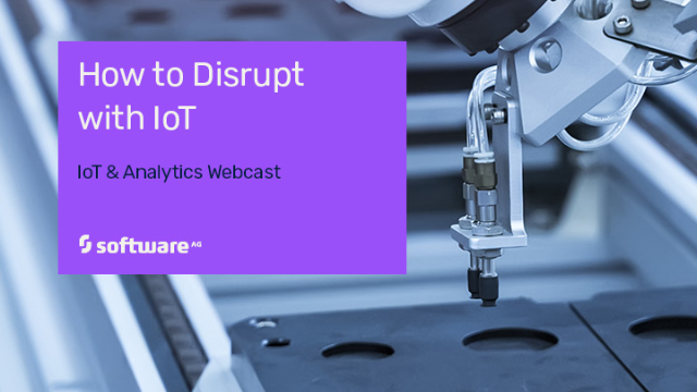 How to Disrupt with IoT
