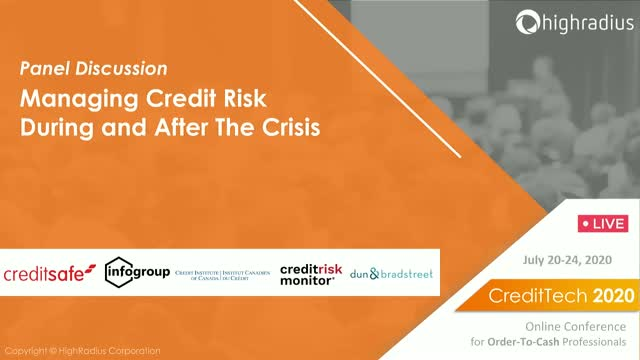 Managing Credit Risk During and After the Crisis