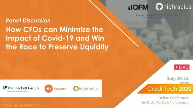 For CFOs | Minimizing the Impact of COVID-19 to Preserve Liquidity