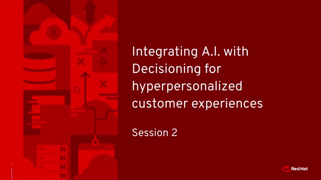 Integrate AI/ML models & decisioning for hyper-personalized customer experiences