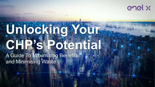 Unlocking your CHP's potential:A guide to maximising benefits & minimising waste