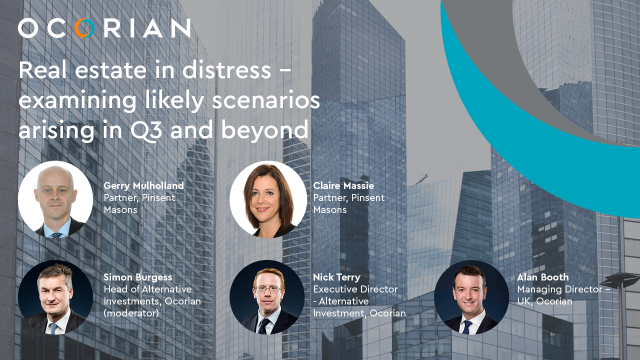 Real estate in distress - examining likely scenarios arising in Q3 and beyond