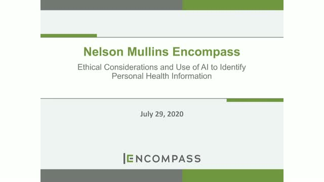 Ethical Considerations and Use of AI to Identify Personal Health Information