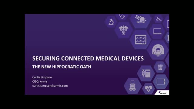 Securing Connected Medical Devices: The New Hippocratic Oath
