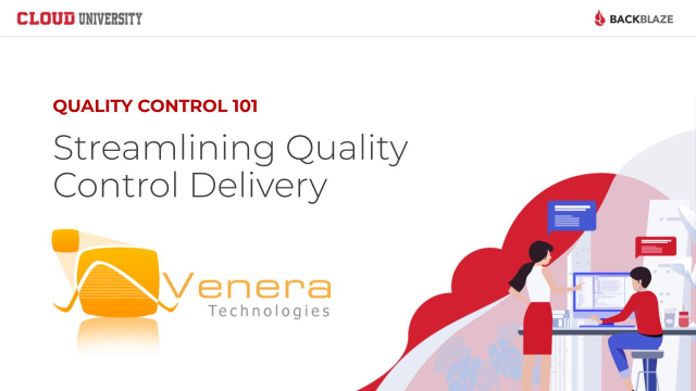 Streamlining Quality Control Delivery with Venera Technologies