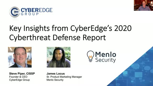 [Expert Insights] How to Leverage CyberEdge's 2020 Cyberthreat Defense Report