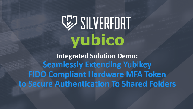 Video: Silverfort & Yubikey