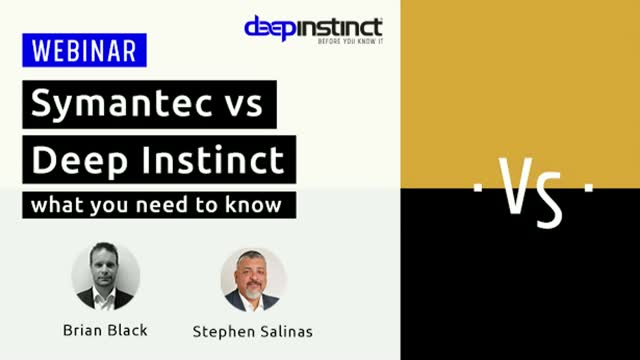 Symantec vs Deep Instinct: What you Need to Know