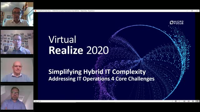"Addressing IT Ops Challenges Today and the Future ""New Norm"""