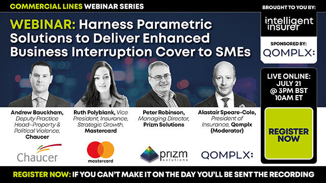 Use Parametric Solutions to Deliver Enhanced Business Interruption Cover to SMEs