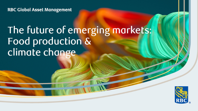 The future of emerging markets: Food production & climate change