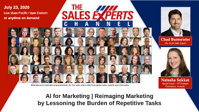 AI for Marketing: Reimagine Marketing by Lessoning the Burden of Repetitive Task