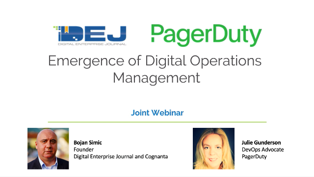 The Emergence of Digital Operations Management