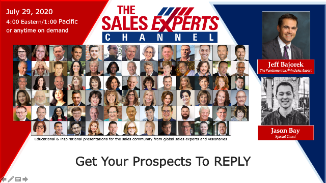Get Your Prospects To REPLY