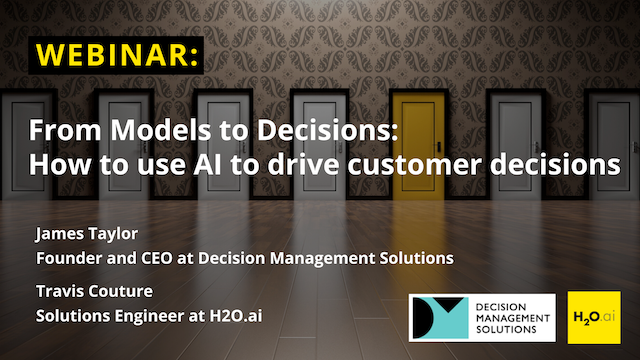 From Models to Decisions: How to use AI to drive customer decisions