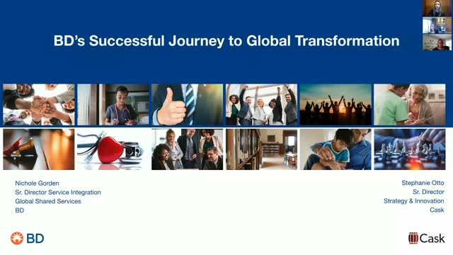 Becton Dickinson's Successful Journey to Global Transformation