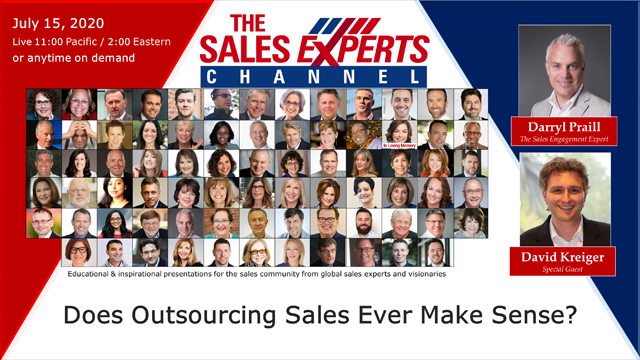 Does Outsourcing Sales Ever Make Sense?
