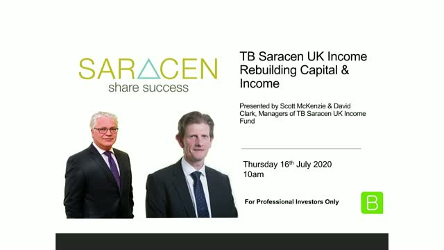 TB Saracen UK Income: Rebuilding Capital and Income