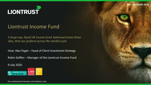 Liontrust Views - Update on Liontrust Income Fund (UK ONLY)