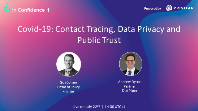 Covid-19: Contact Tracing, Data Privacy and Public Trust