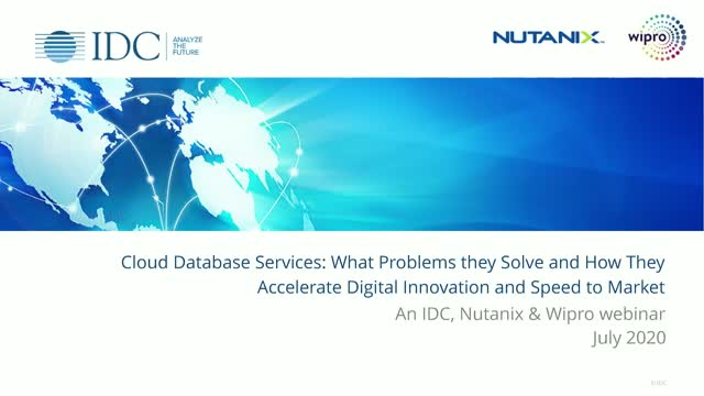 Cloud Database Services: The Problems they Solve and How They Accelerate Digital