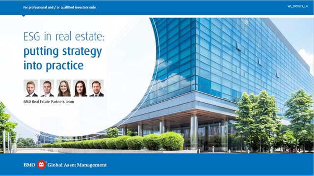 ESG in real estate: putting strategy into practice
