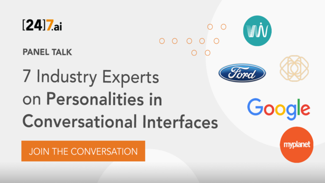Panel Talk: Personalities in Conversational Interfaces