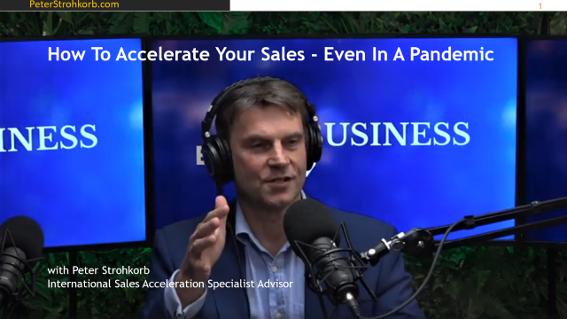 How To Accelerate Your Sales - Even In A Pandemic