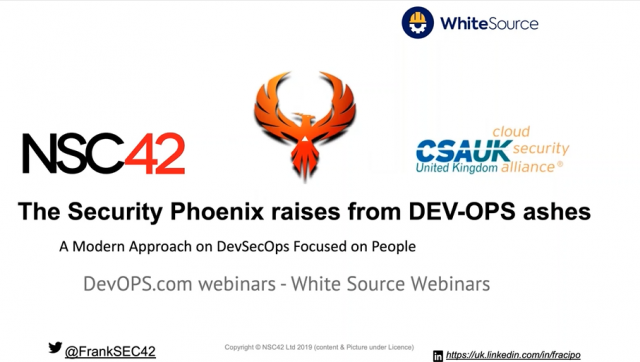 The Security Phoenix: A Modern Approach to DevSecOps Focus on People