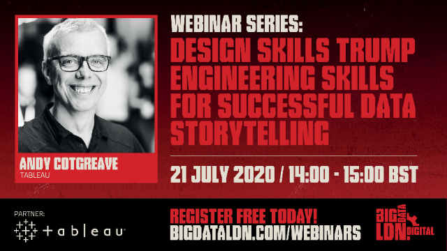 Design skills trump engineering skills for successful data storytelling