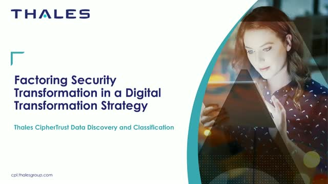 Factoring Security Transformation in a Digital Transformation Strategy