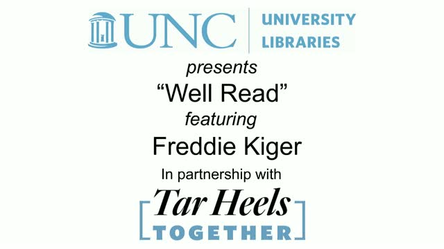 Well Read with Freddie Kiger