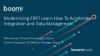 Modernizing ERP? Learn How To Accelerate Integration and Data Management