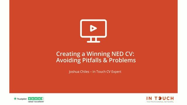 Creating a Winning Non-Executive CV: Avoiding Pitfalls and Problems