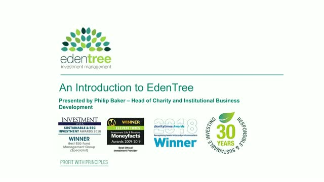 An Introduction to EdenTree