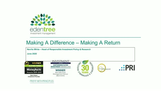 Making A Difference – Making A Return