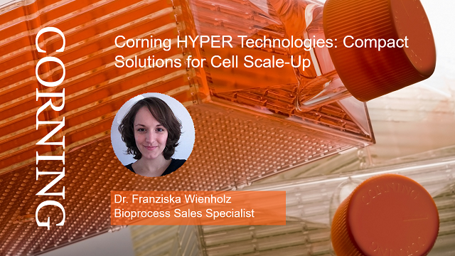 Corning HYPER Technologies: Compact Solutions for Cell Scale-Up [GER. VERSION]