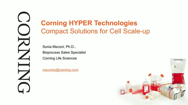 Corning HYPER Technologies: Compact Solutions for Cell Scale-Up [FR. VERSION]