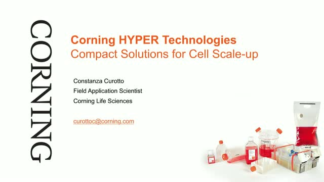 Corning HYPER Technologies: Compact Solutions for Cell Scale-Up [SP. VERSION]