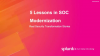 5 Lessons in SOC Modernization: Real Security Transformation Stories