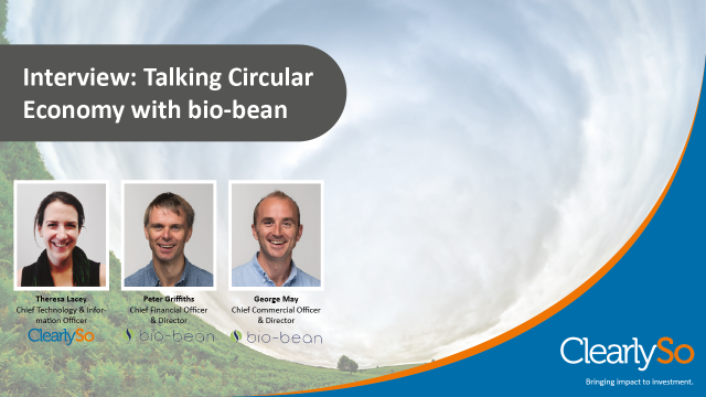 ClearlySo Interview: Talking Circular Economy with bio-bean