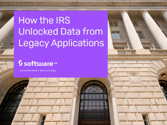 How the IRS Unlocked Data from Legacy Applications