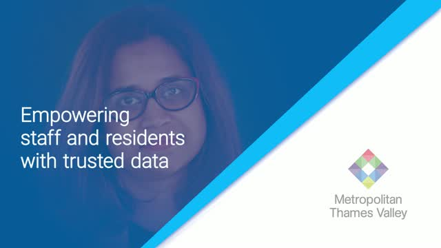 Amy Singh, MTVH: Empowering staff and residents with trusted data